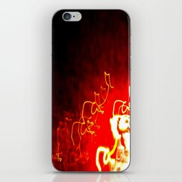 Fire Light iPhone Skin