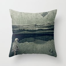 anatomy space I Throw Pillow
