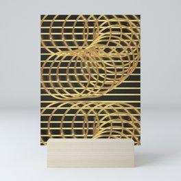 Gold Madness Mini Art Print