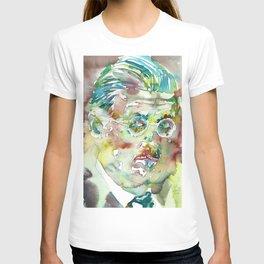 JAMES JOYCE - watercolor portrait.4 T-shirt