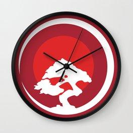 Acacia Sunset Calm Moon Judaism Gift Wall Clock