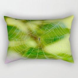 Beautiful Cobweb Rectangular Pillow