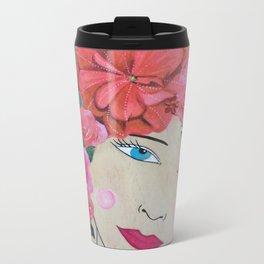 Enchanted Garden Goddess Metal Travel Mug