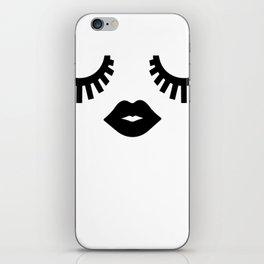 Eyelashes iPhone Skin