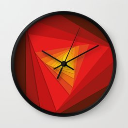 Triangular Gen II Wall Clock