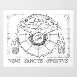 Come Holy Ghost Art Print