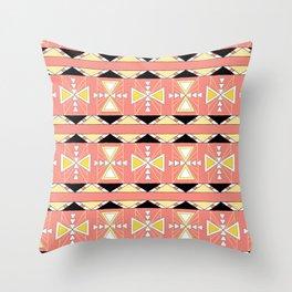 Honey Lodge Throw Pillow