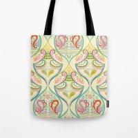 carnival Tote Bags featuring Carnival by Pim-Pimlada Studio