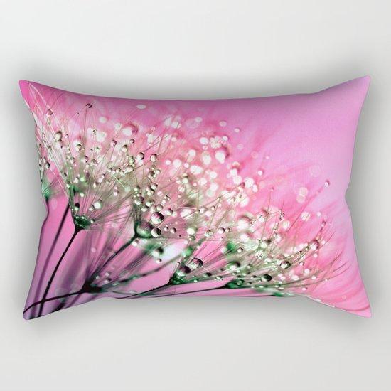 Pink Diamond Dew Rectangular Pillow