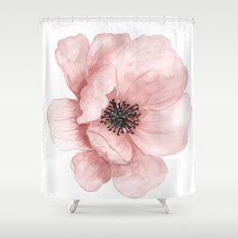 Flower 21 Art Shower Curtain