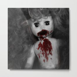 Zombie Baby Metal Print