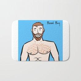 Beard Boy: Ginger Bath Mat
