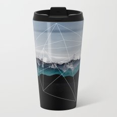 Mountains II Metal Travel Mug