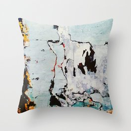 PALIMPSEST, No. 12 Throw Pillow