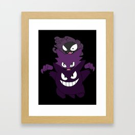 Gastly Evo Framed Art Print