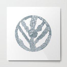 Shieldmaiden Metal Print