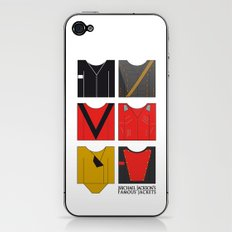 Michael's famous jackets iPhone & iPod Skin