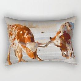 Texas Longhorns Rectangular Pillow