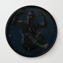 Social Surface - Underwater Wall Clock