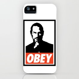 Obey Steve Jobs iPhone Case