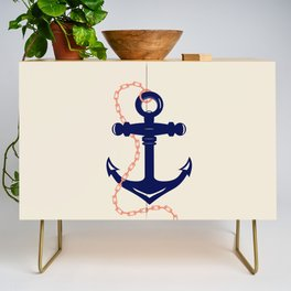 AFE Navy Anchor and Chain Credenza