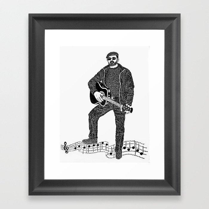 Rock 'N' Roll Framed Art Print