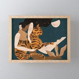 Wild at heart Framed Mini Art Print