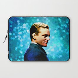 James Cagney, blue screen Laptop Sleeve