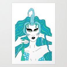 Scorpio / 12 Signs of the Zodiac Art Print