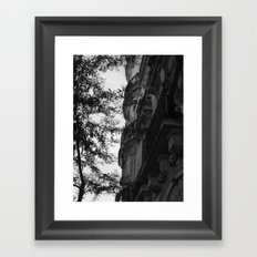 Around the corner Framed Art Print