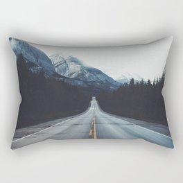 Mountain Road #forest Rectangular Pillow