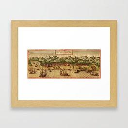 Calcutta 1572 Framed Art Print