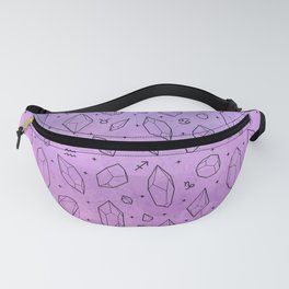Crystals & Constellations (Lilac) Fanny Pack