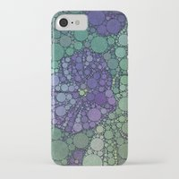 potato iPhone & iPod Cases featuring Percolated Purple Potato Flower by Charma Rose