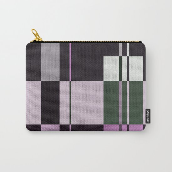 Interesting Geometry - Pale, pastel artwork Carry-All Pouch