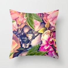 Flower dream Throw Pillow