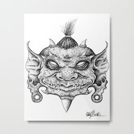 Goblin King Metal Print