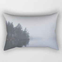 I love the rain Rectangular Pillow