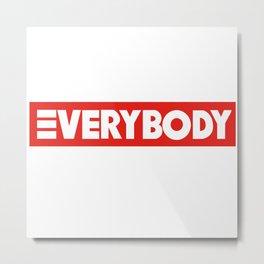 Logic Everybody Metal Print