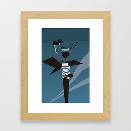Contagious 2 Framed Art Print