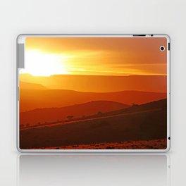 Golden morning in Africa Laptop & iPad Skin