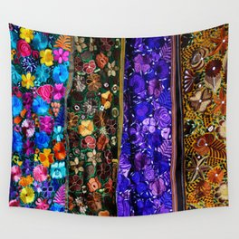 mexican art Wall Tapestry