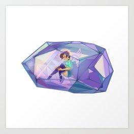 Crystal Angel Art Print