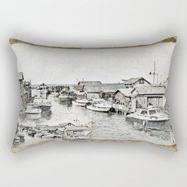 Fish Town Rectangular Pillow