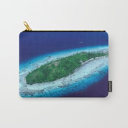 South Pacific Romantic, Remote Island In French Polynesia Carry-All Pouch