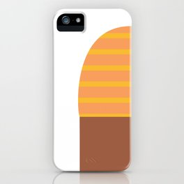 Yellow & Black T-Shirt iPhone Case