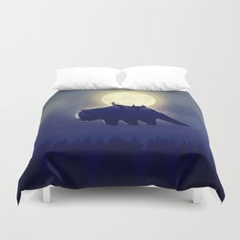 The End of All Things - Night Version Duvet Cover