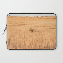 Deer In Formation at Zion National Park Laptop Sleeve
