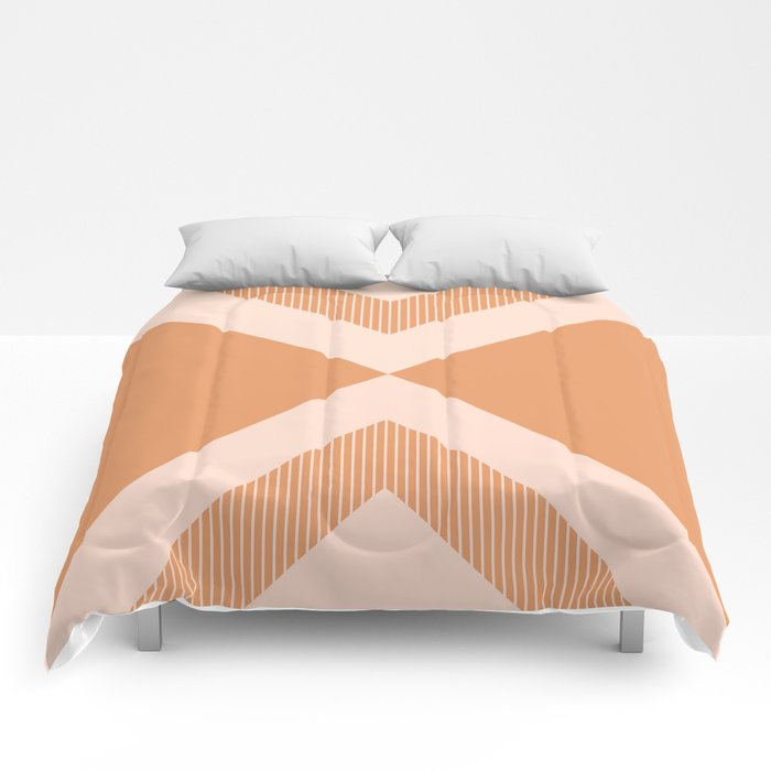 X Honey & Blush Comforters