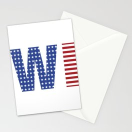 Wisconsin 4th Of July Stationery Cards